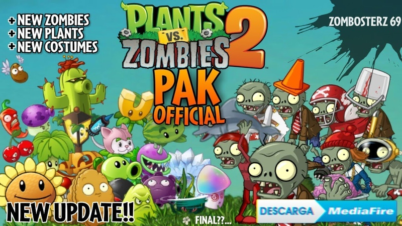 ⭕ ¡NUEVA ACTUALIZACIÓN PVZ 2 PAK OFFICIAL 2020 Plants vs Zombies 2 PAK 🔘 Mediafire ◾⬜