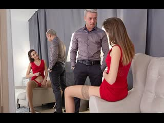 TeenyLovers - Teeny in Red Plays with Cock / Alisha Brendy