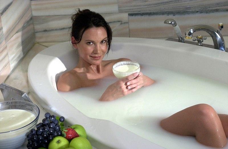 Содовые ванны для похудения фото до