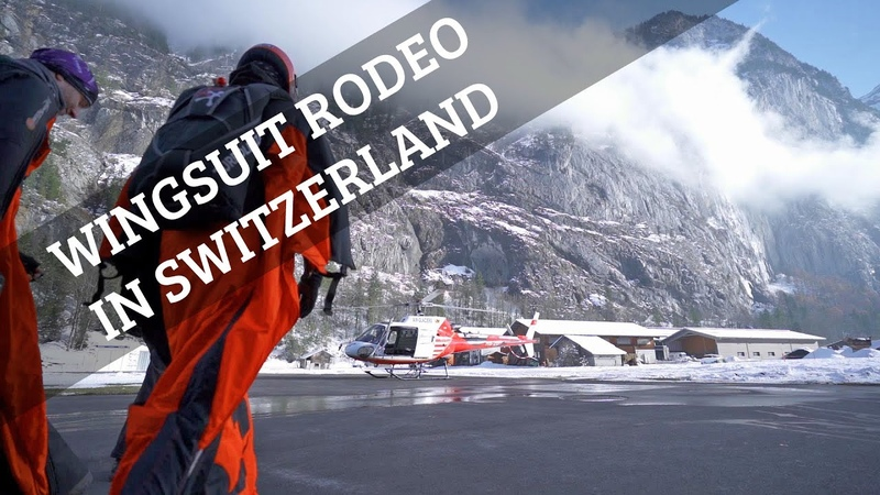 Wingsuit Rodeo 'Alle gegen Einen'