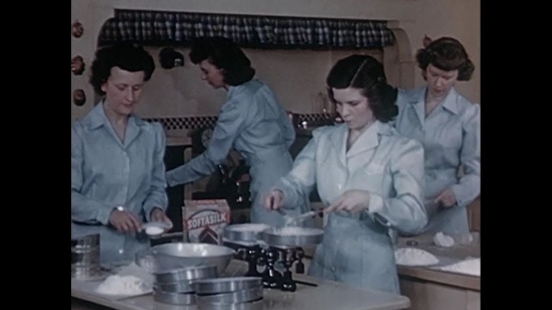 The New Betty Crocker Method of Making Cake 400 Years in 4 Minutes 1945