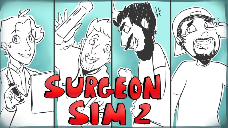 Surgeon Sim 2 Irish Lads animation