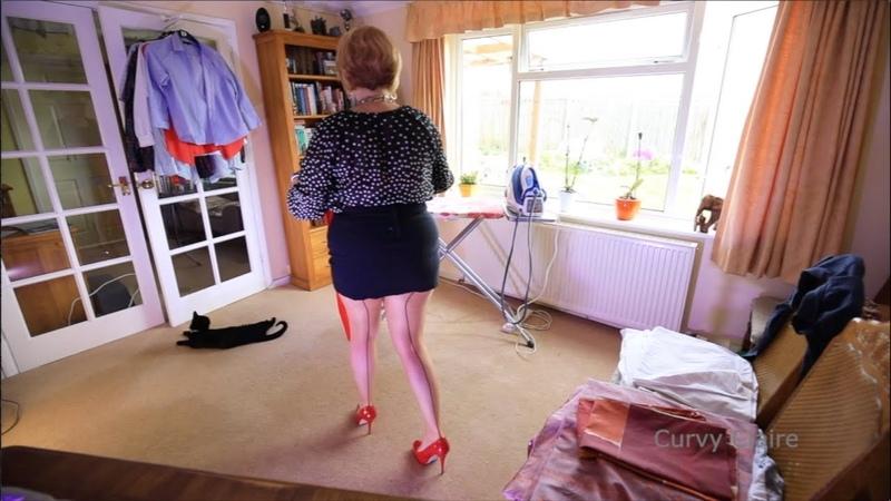 Ironing Straightening My Seams