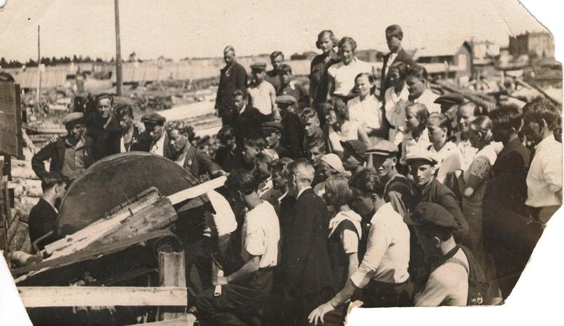 Карельская советско-партийная школа. Петрозаводск, 1936 г.
