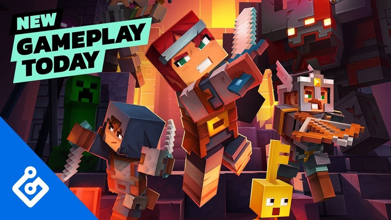 Minecraft Dungeons Co-op Gameplay — New Gameplay Today