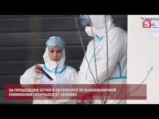 Александр Беглов ежедневно сдает тесты накоронавирус