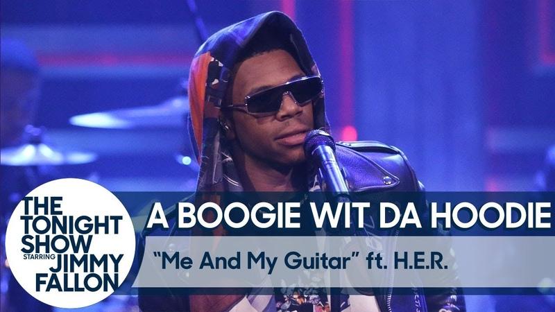Выступление A Boogie Wit da Hoodie с треком Me and My Guitar на шоу Джимми Фэллона