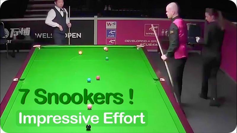 Elliot Slessor needs 7 snookers against Zhang Anda 2019 Welsh Open Last 32