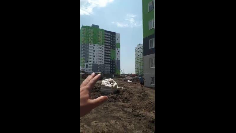 06 07 2020г Ход строительства квартир С РЕМОНТОМ по сертификатам ГЖС в Краснодаре
