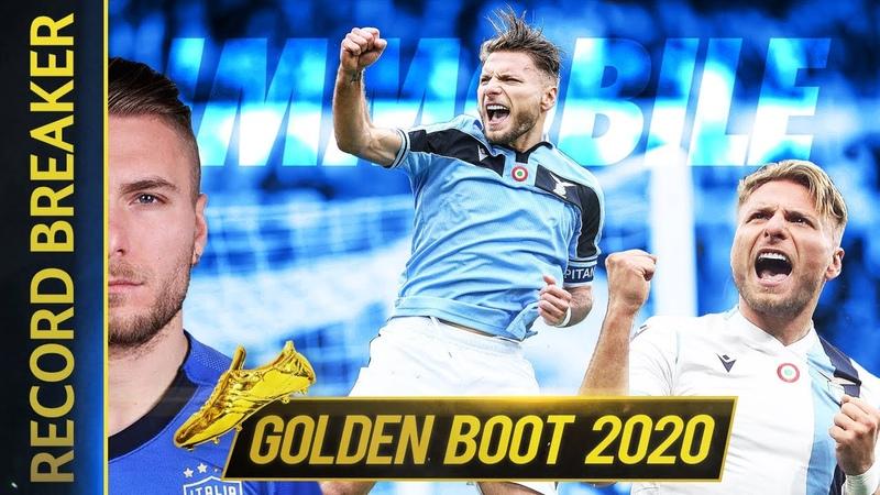 CIRO IMMOBILE SERIE A TOP SCORER GOLDEN BOOT 2020
