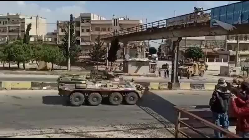 Мирные сирийские боевики атаковали российский военный патруль Видео Hsn7rtqpTyDu6dDc via Skyload