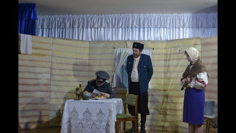 Народный духовно-патриотический театр песни И. Талькова спектакль Назначается внучкой