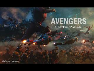 AVENGERS // unstoppable /| by ksuvvvy