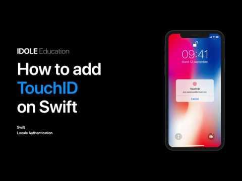 Вход с помощью TouchID Знакомство с LocalAuthentication Тестирование на симуляторе