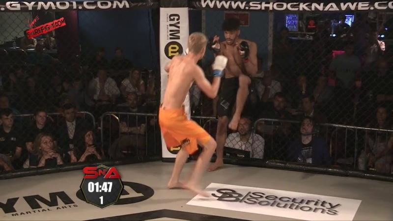 Amar Shahid vs Sam Green – Amateur Flyweight MMA - Shock N Awe 25
