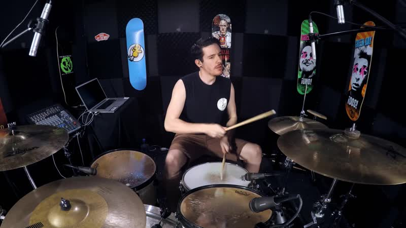 The Offspring - The Kids Arent Alright (Overplayed Drum Cover) - Kye Smith