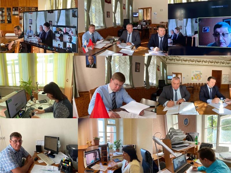 В администрации Петровского района возобновились еженедельные аппаратные совещания