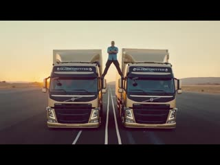 Volvo Trucks - The Epic Split ft. Van Damme (2013)