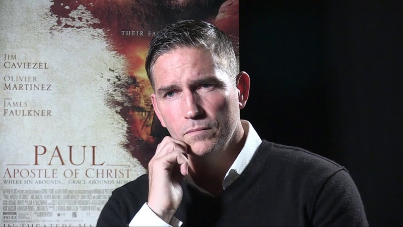 Jim Caviezel talks to Patricia Holbrook about Paul Apostle of Christ Movie