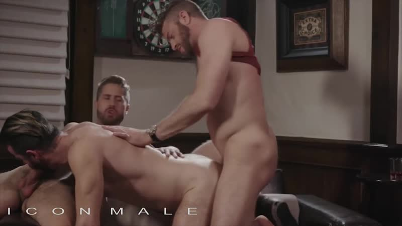 ICONMALE HOT 3 SOME W, BRENDAN PATRICK, WESLEY WOODS LINK PARKER gay