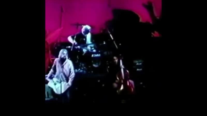 Kurt Cobain of Nirvana stopping a sexual assault at a concert