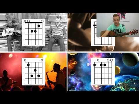 Гитара за 7 дней ДЕНЬ 6 Игра Пение и 4 семьи аккордов