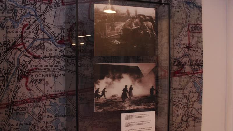 Освобождение фабрики смерти в Освенциме Шок красноармейцев повидавших тысячи смертей в боях