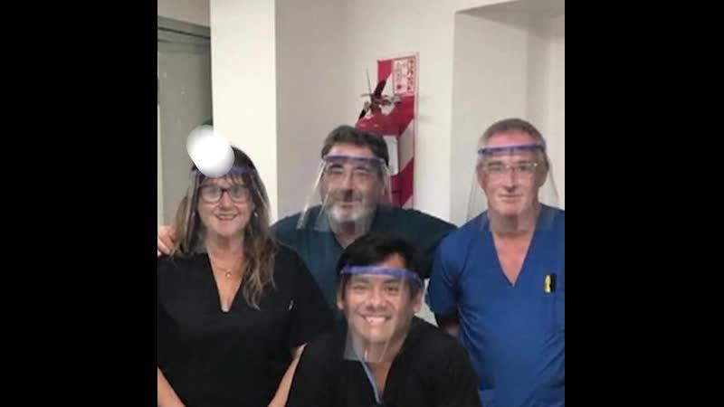 Волонтеры из Аргентины распечатали защитные маски на 3D принтере и пожертвовали их больницам