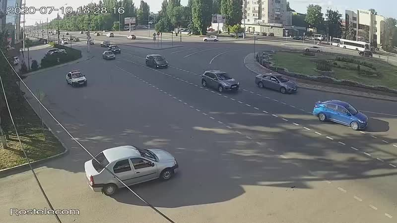 ДТП на площади Мира