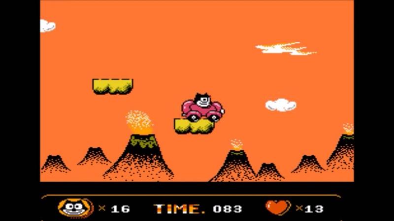 Let's play Felix the cat 2 by Dragon co Кот Феликс 2 Полное прохождение Денди Dendy NES