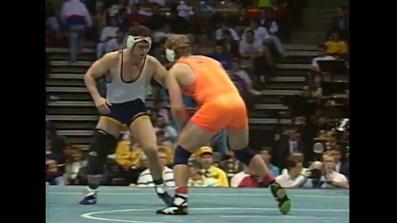 Kurt Angle vs Jon Llewellyn ¦ 1991 NCAA