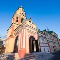 Логотип Духосошественский храм города Казани