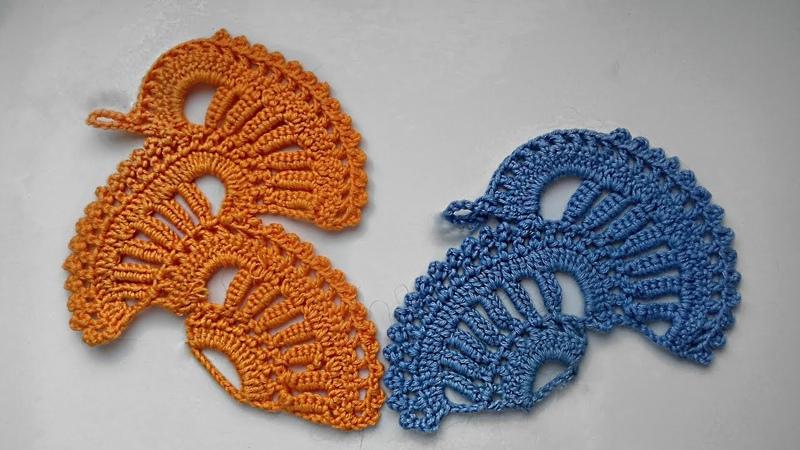 Простое и очень красивое ленточное кружево Справится даже начинающий Ribbon lace Вяжем по схеме