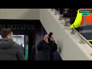 That Spurs fan nearly got there with that selfie with Mourinho