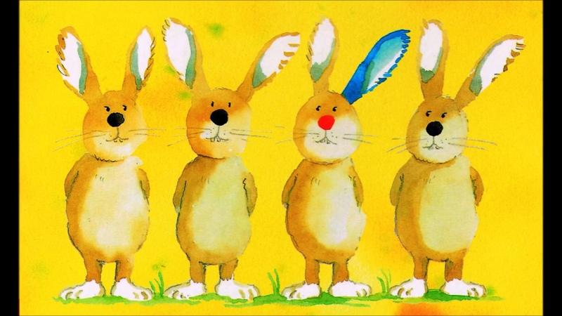 Der Hase mit der roten Nase Helme Heine Bilderbuch Lesung Kinder Buch Gedicht Hörbuch Ostern