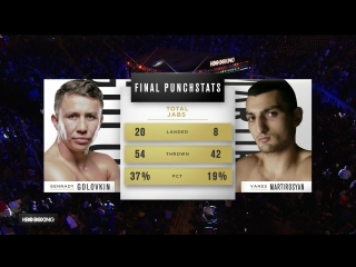 Геннадий Головкин - Ванес Мартиросян (HD 1080)