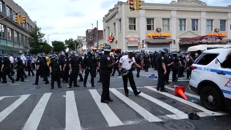Беспорядки в Нью Йорке Samsebeskazal Denis
