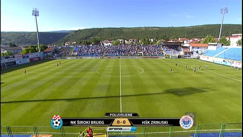 NK Široki HŠK Zrinjski 11 cijela utakmica