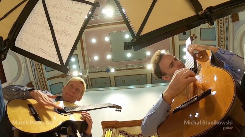 Marek PASIECZNY Pōkarekare Ana for two guitars feat Michał Stanikowski