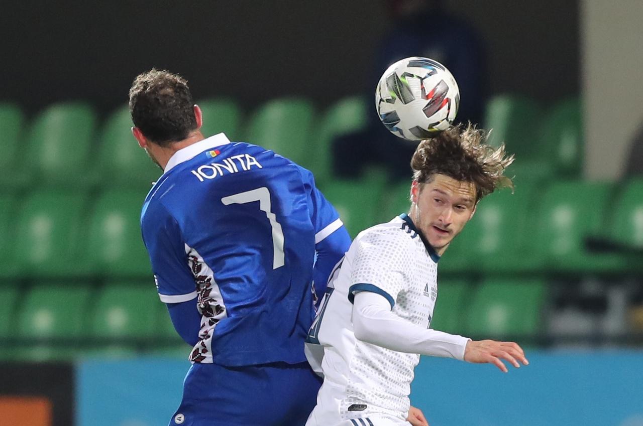 Молдова - Россия, 0:0