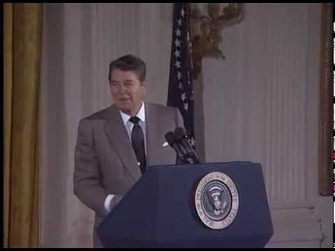 Compilation of President Reagan's Humor from Selected Speeches 1981 89