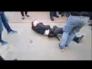 Видео задержания Тихановского