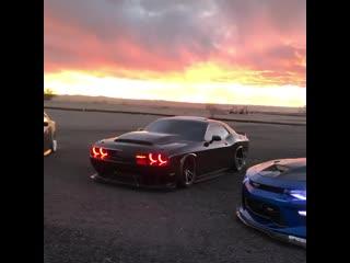 Dodge Charger/Dodge Challenger SRT Demon/Chevrolet Camaro ZL1