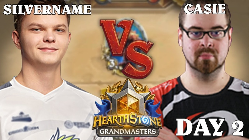SilverName vs Casie HearthStone GrandMasters 2020 Season 1 Day 2