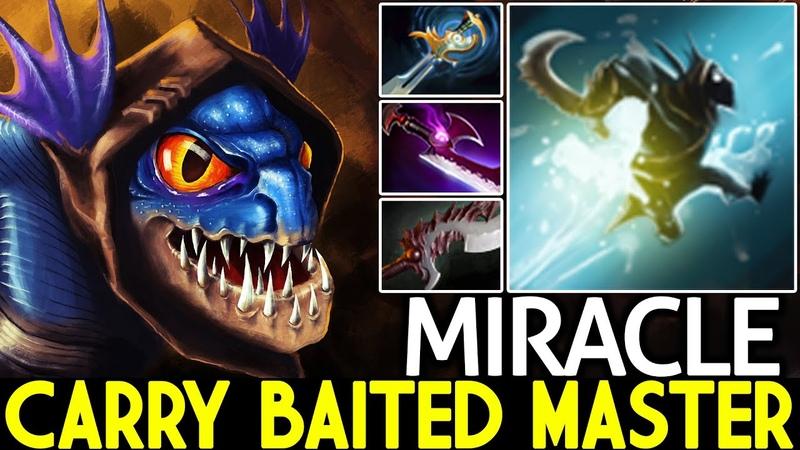 MIRACLE [Slark] Pro Carry Baited Master Close Game 7.26 Dota 2