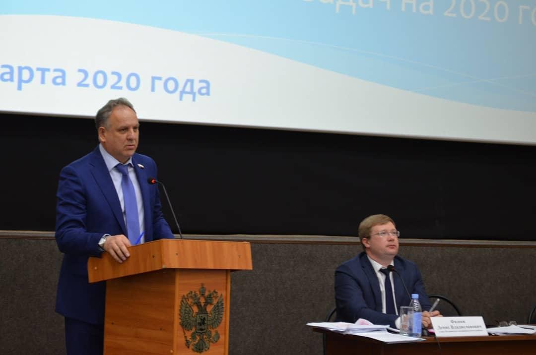 На заседании актива Петровского района наметили задачи на текущий год и наградили петровчан, проявивших себя в работе и общественной деятельности