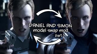 Detroit Become Human - Daniel and Simon model swap [Mod] (Part 1)