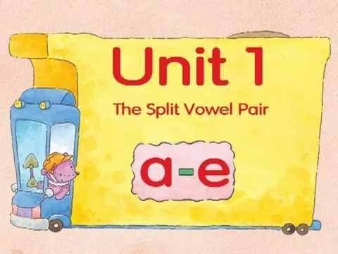 "Phonics Kids Level 6A 1 The Split Vowel Pair a e"" ake ame ane ate 9 mins Phonics for Children"