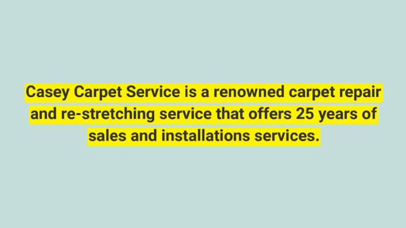 Carpet Repair Marietta GA