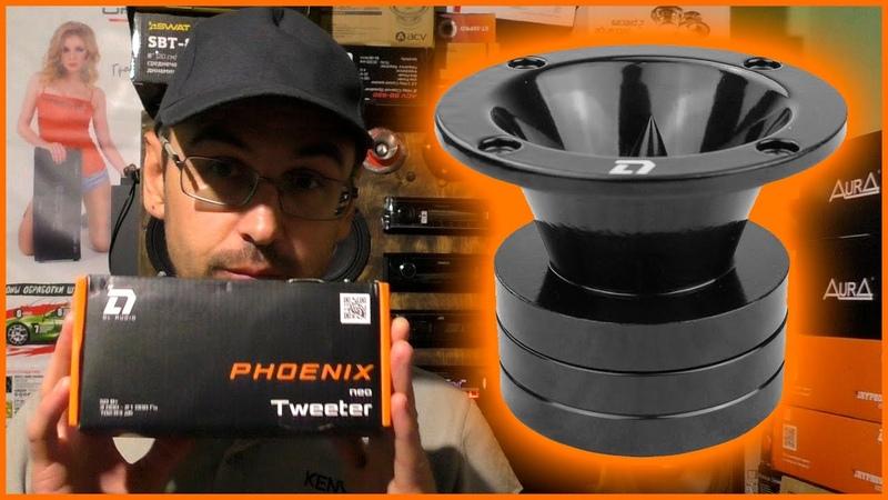 Рупорные твитеры DL AUDIO PHOENIX NEO, распаковка, обзор прослушка с Phoenix Hybrid Neo 200